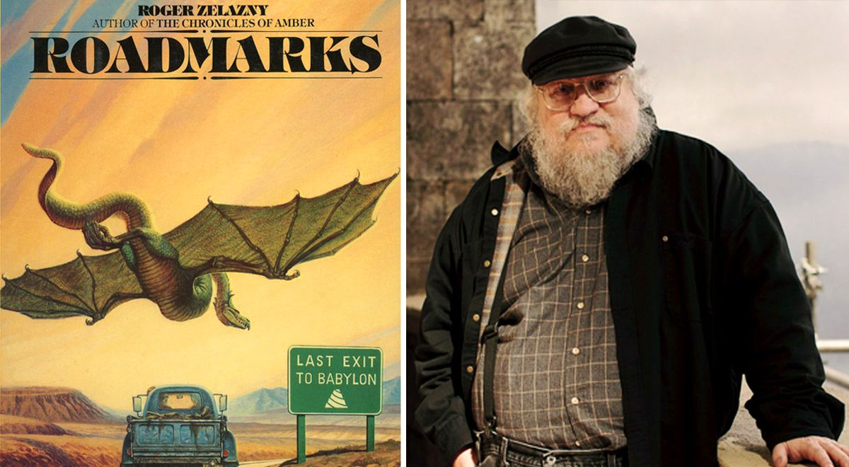George RR Martin is Developing HBO Series based on Roadmarks Book