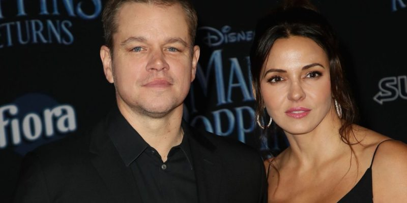 Matt Damon, Luciana Barroso Divorce Rumors- Couple having Marriage Troubles after Lockdown
