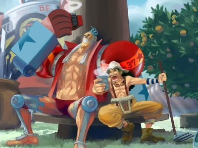 One Piece Chapter 1004 Full Summary Spoilers- Usopp saves Franky Shogun from Sasaki's Troops