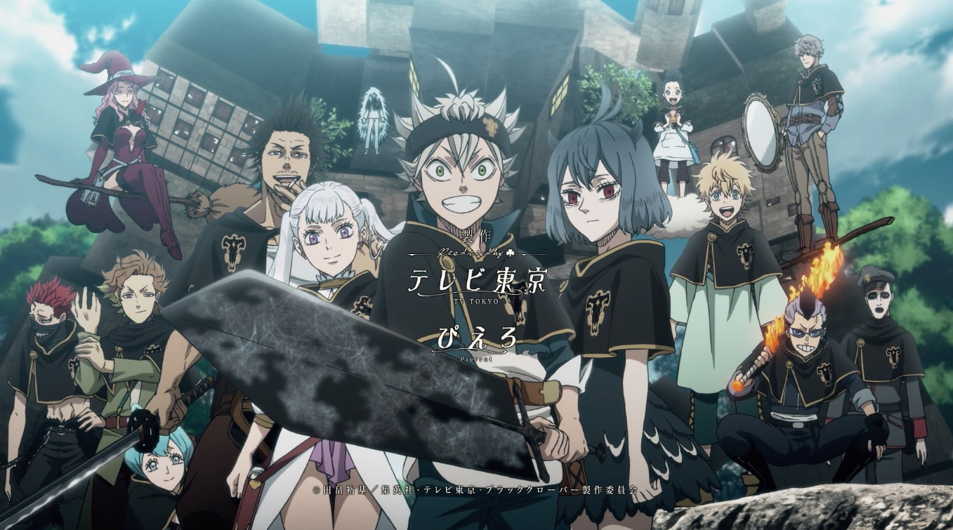 Black Clover Chapter 287 Cover and Poster Updates