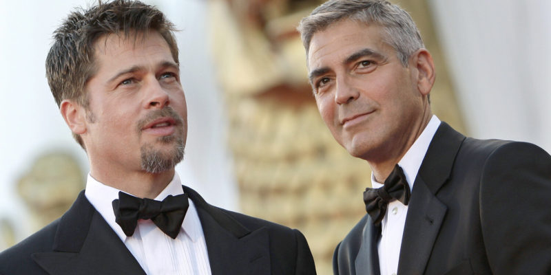Brad Pitt, George Clooney Fight Rumors- The Ocean Co-Stars have broken their Friendship