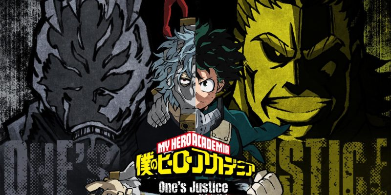 My Hero Academia Chapter 306 Colorspread: Deku, Shigaraki, All Might and All For One on the Cover