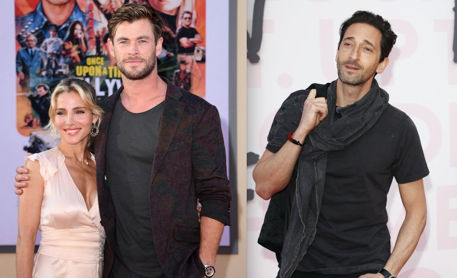Adrien Brody's Castle creating Issues for Chris Hemsworth and Elsa Pataky